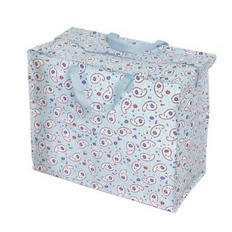 Scandinavian Paisley Storage Laundry and Toy Bag