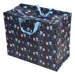 Owls Design Storage Laundry and Toy Bag