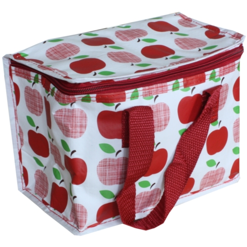 Red Apples Insulated Lunch Bag