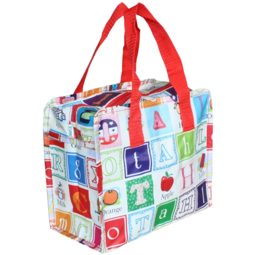 Alphabet Charlotte Lunch Bag