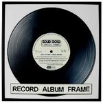 "12"" Record Cover Frame Black Edge"