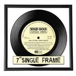 "7"" Record Cover Frame Black Edge"