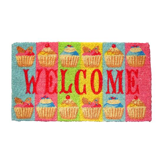 Fairy Cup Cake Doormat
