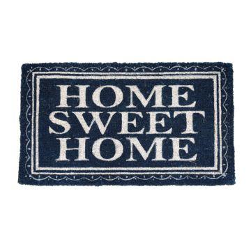 Home Sweet Home Blue Doormat