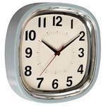 Blue Refectory Clock