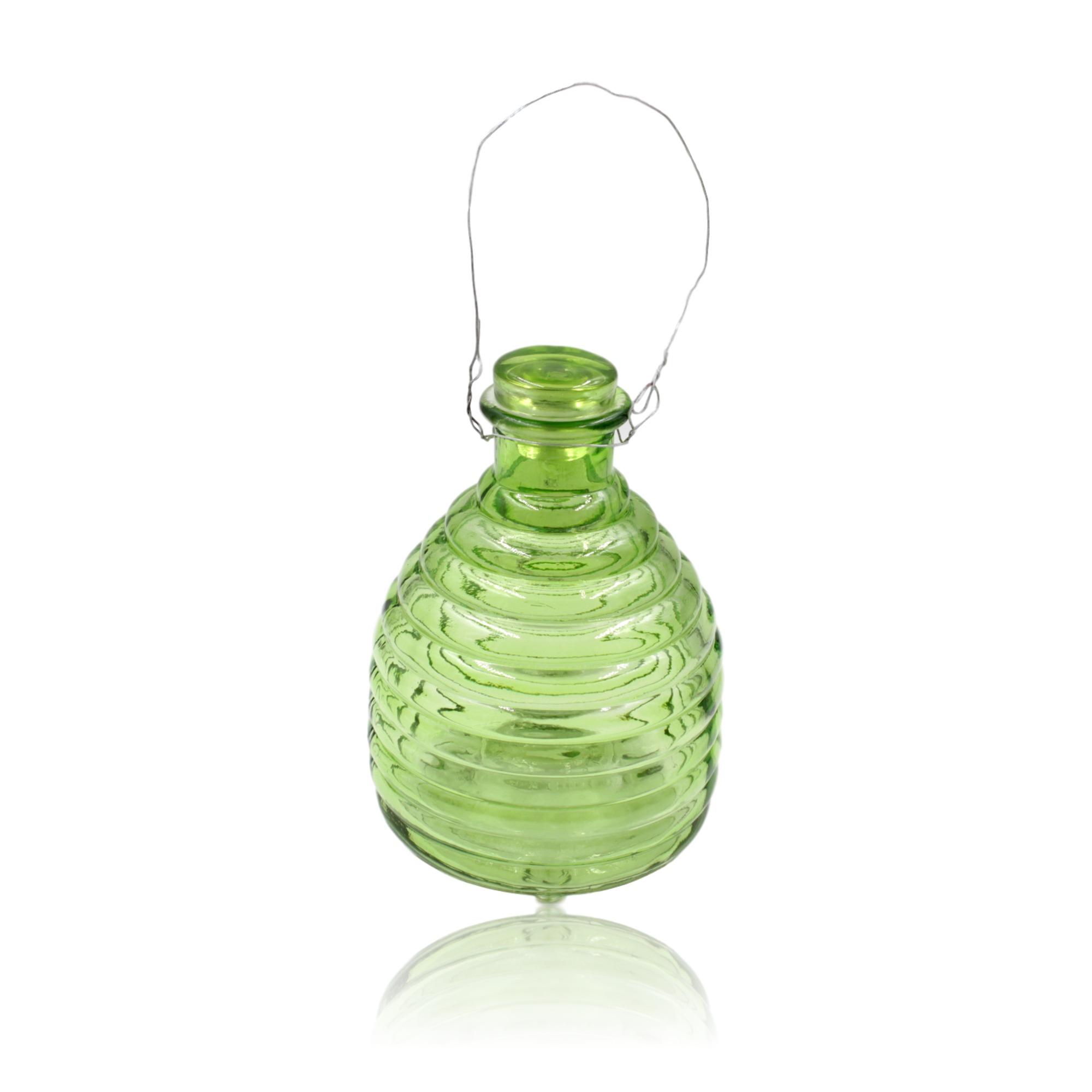 Green Glass Wasp Catcher