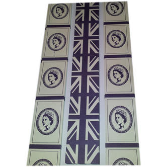 Queen Elizabeth and Union Jack Design Celebration Paper Chain