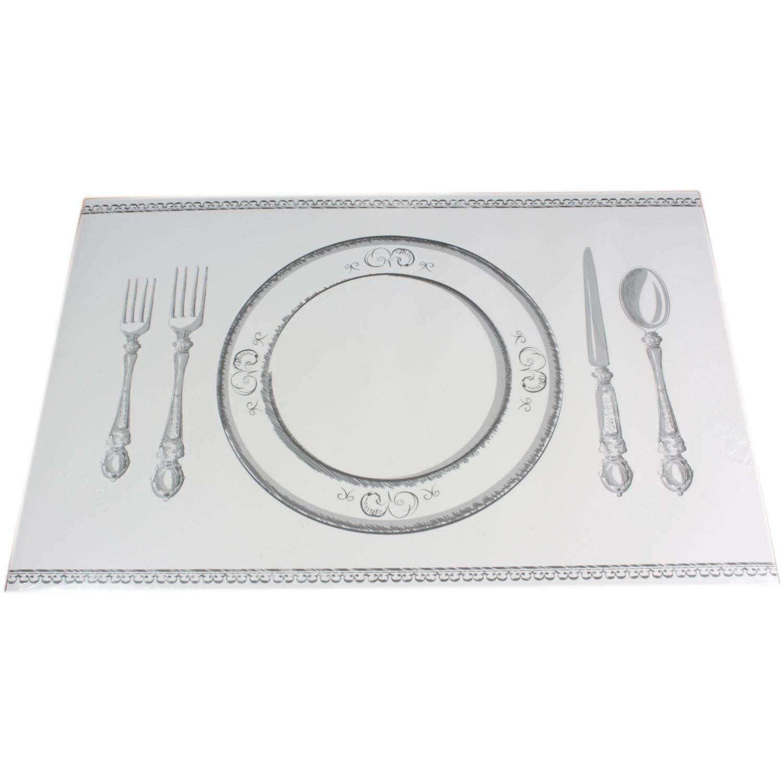 Banquet Style Disposable Paper Placemats x24