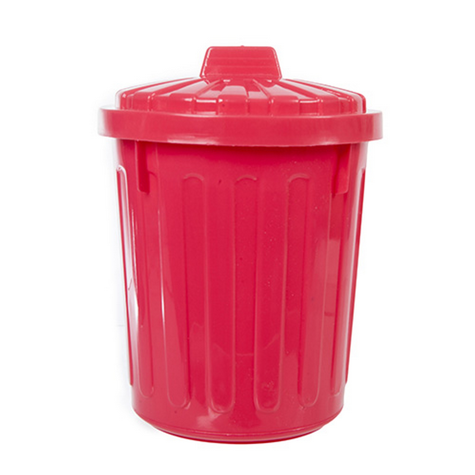 Mini Dustbin Bin Desk Tidy Pen Holder Fuschia Pink