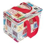 Vintage Alphabet Letters Insulated Lunch Bag
