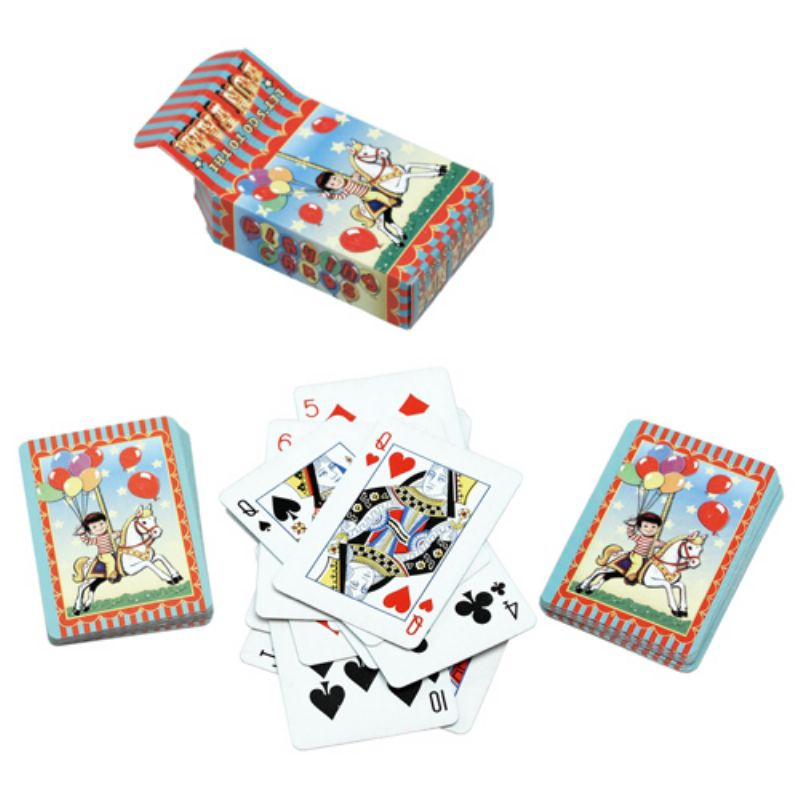 Childrens Travelling Fair Designer Mini Playing Cards ...