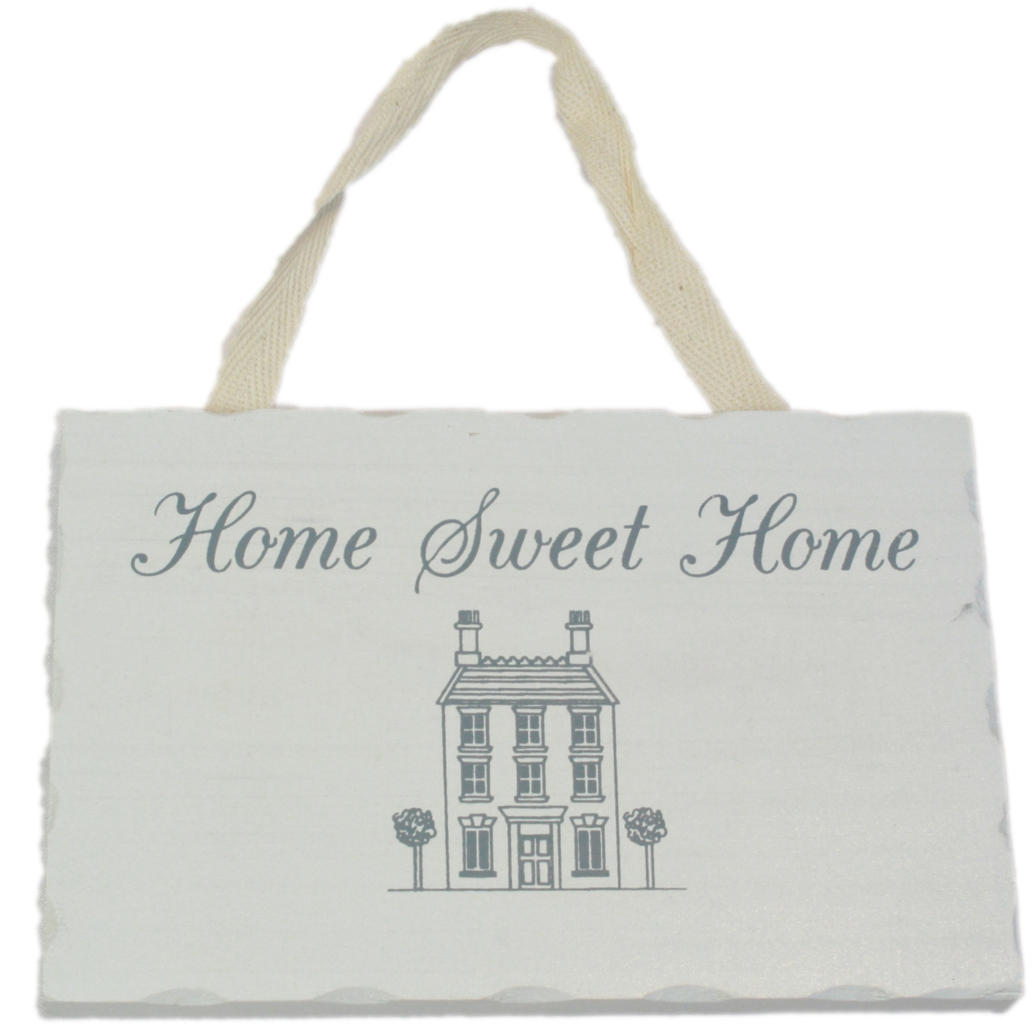 Home Sweet Home Shabby French Chic Style Sign In White