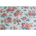 Brown Floral Self Adhesive Decorative Vinyl 45cm x 120cm