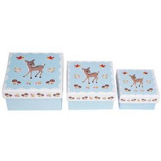Woodland Design Small Nesting Jewellery & Nik Nak Boxes