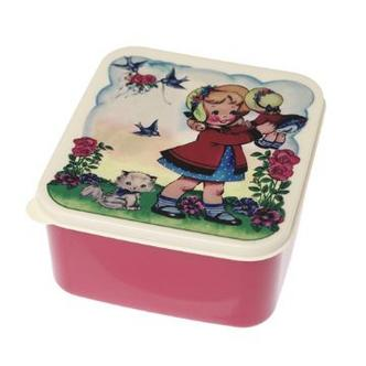 Dolly Girl Childrens Plastic Sandwich Lunch Boxes