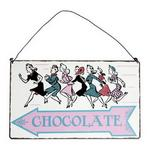 Chocolate This Way Directional Sign