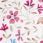 Red Flower Self Adhesive Decorative Vinyl 45cm x 120cm