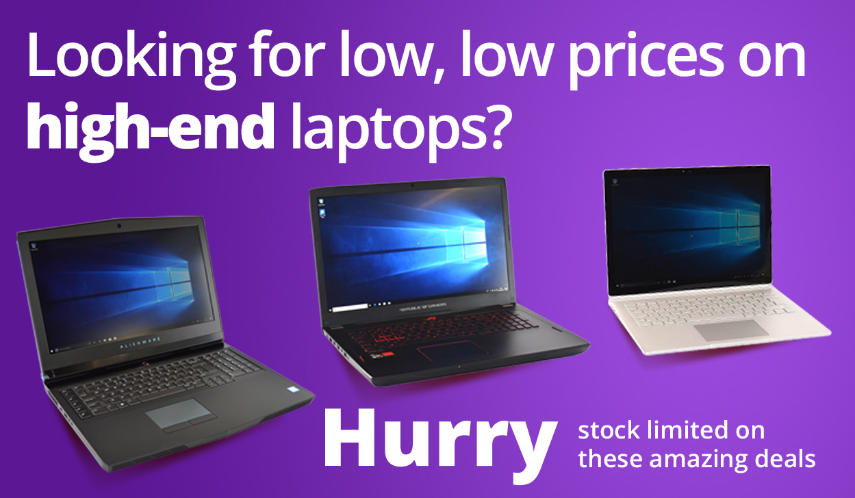 Low Prices on High-End Laptops