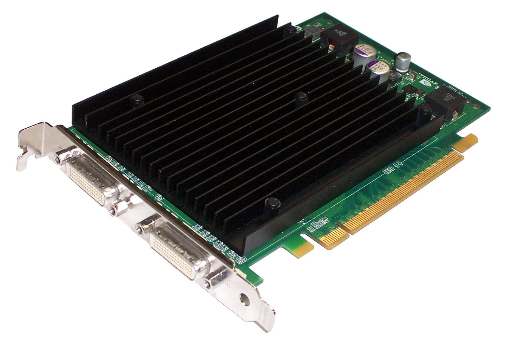 HP 385641-001 Quadro NVS440 256MB Quad Display Graphics Card -  SP 390423-001