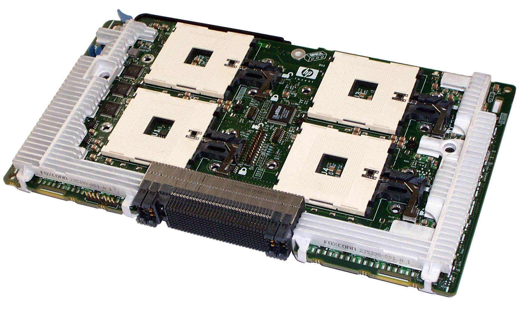 HP 203226-001 Quad Socket CPU Board DL740 DL760 - 314379-001