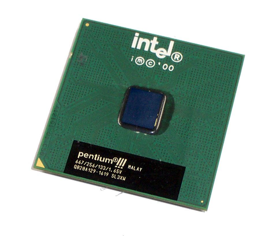 Intel SL3XW Pentium 3 667MHz Socket 370 Processor 667/256/133/1.65V