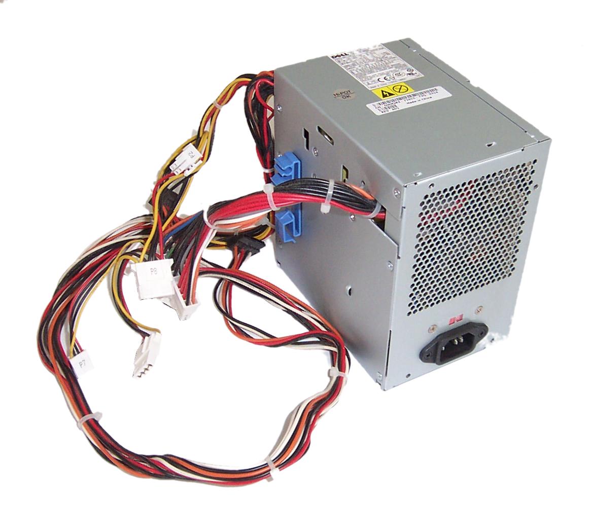 Dell WM283 Precision 390 375W Power Supply -  L375P-00 PS-6371-1DF-LF