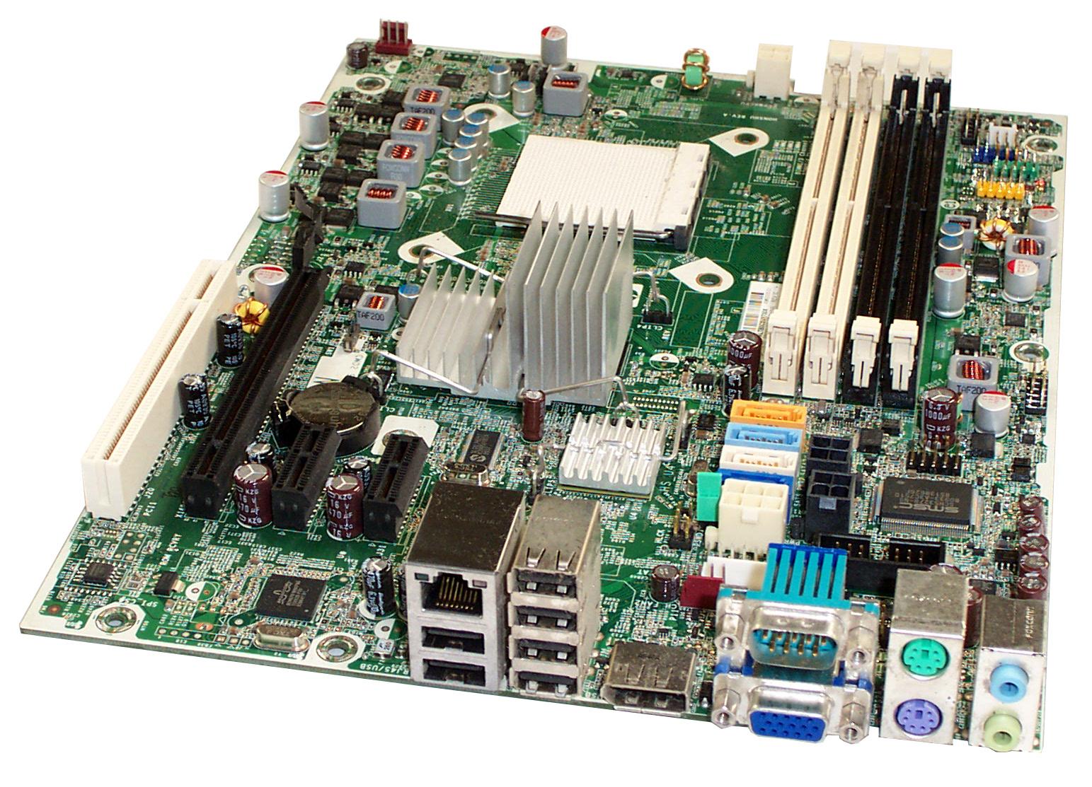 HP 531966-001 6000 6005 Pro SFF Socket AM3 Motherboard - 503335-001