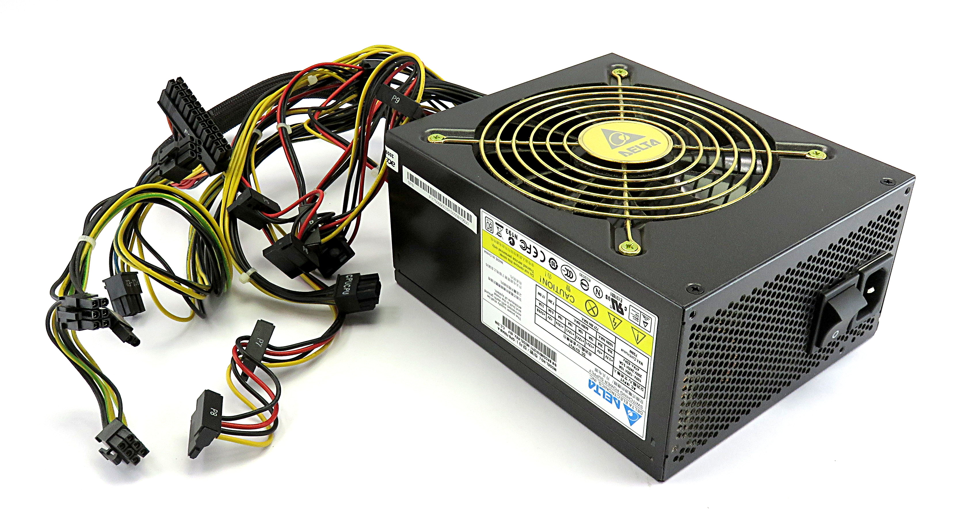 GPS-750AB A Delta 750W Non-Modular 80+ White ATX PC Power Supply