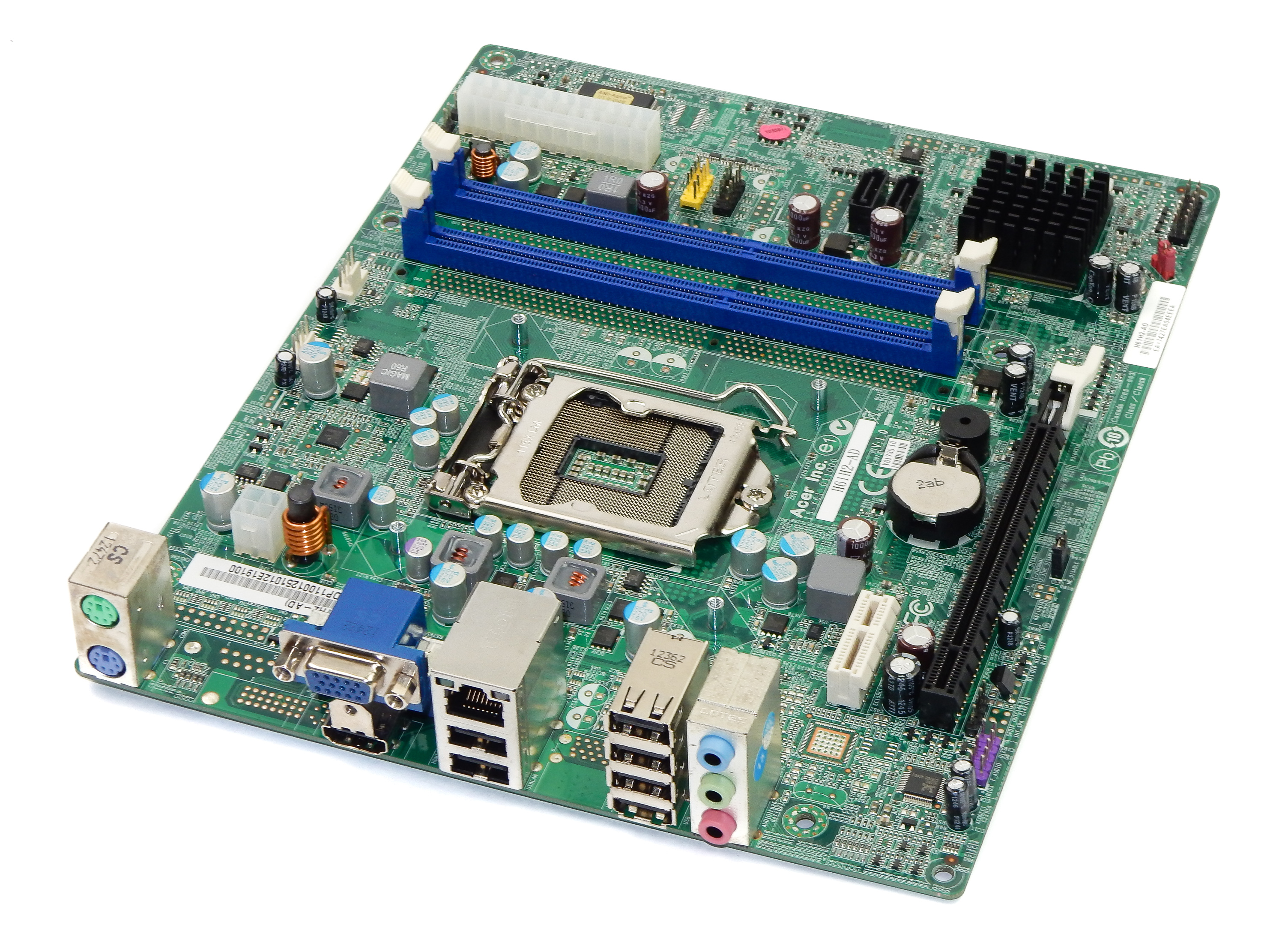 Acer H61H2-AD Version 1.0 Intel Socket LGA1155 mATX Motherboard