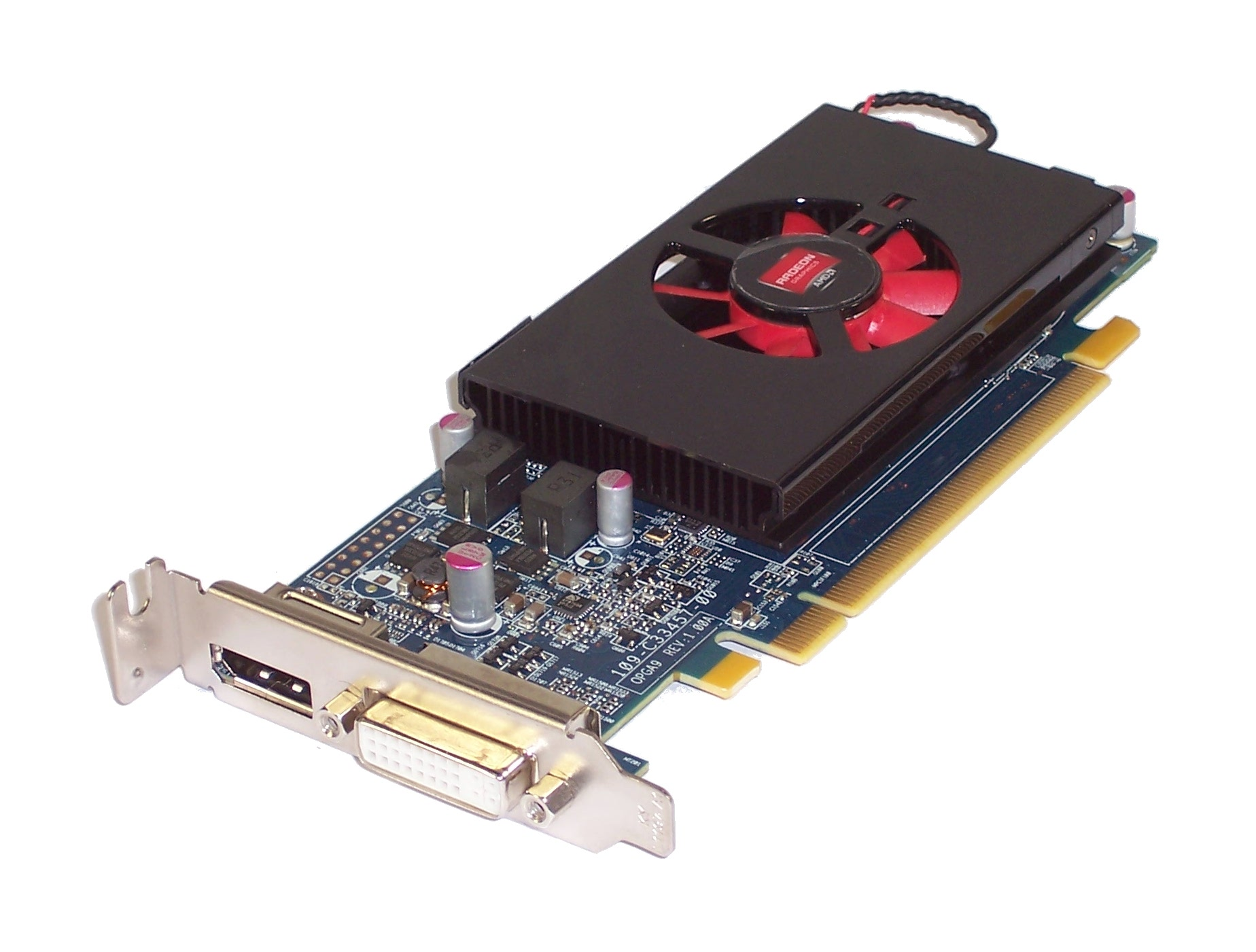 Dell KFWWP AMD Radeon HD 7570 PCI-e LP Graphics Card With Display And DVI Port