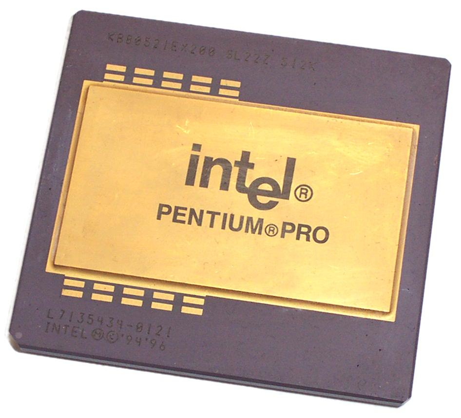 Vintage Intel SL22Z Pentium Pro 200MHz Socket 8 Processor 512KB