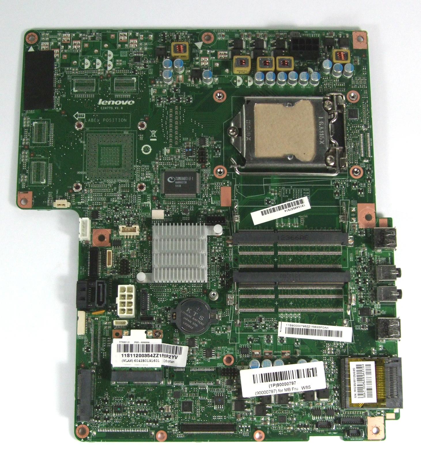 Lenovo CIH77S IdeaCenter B540P Motherboard - 1310A2537514 / 90000797