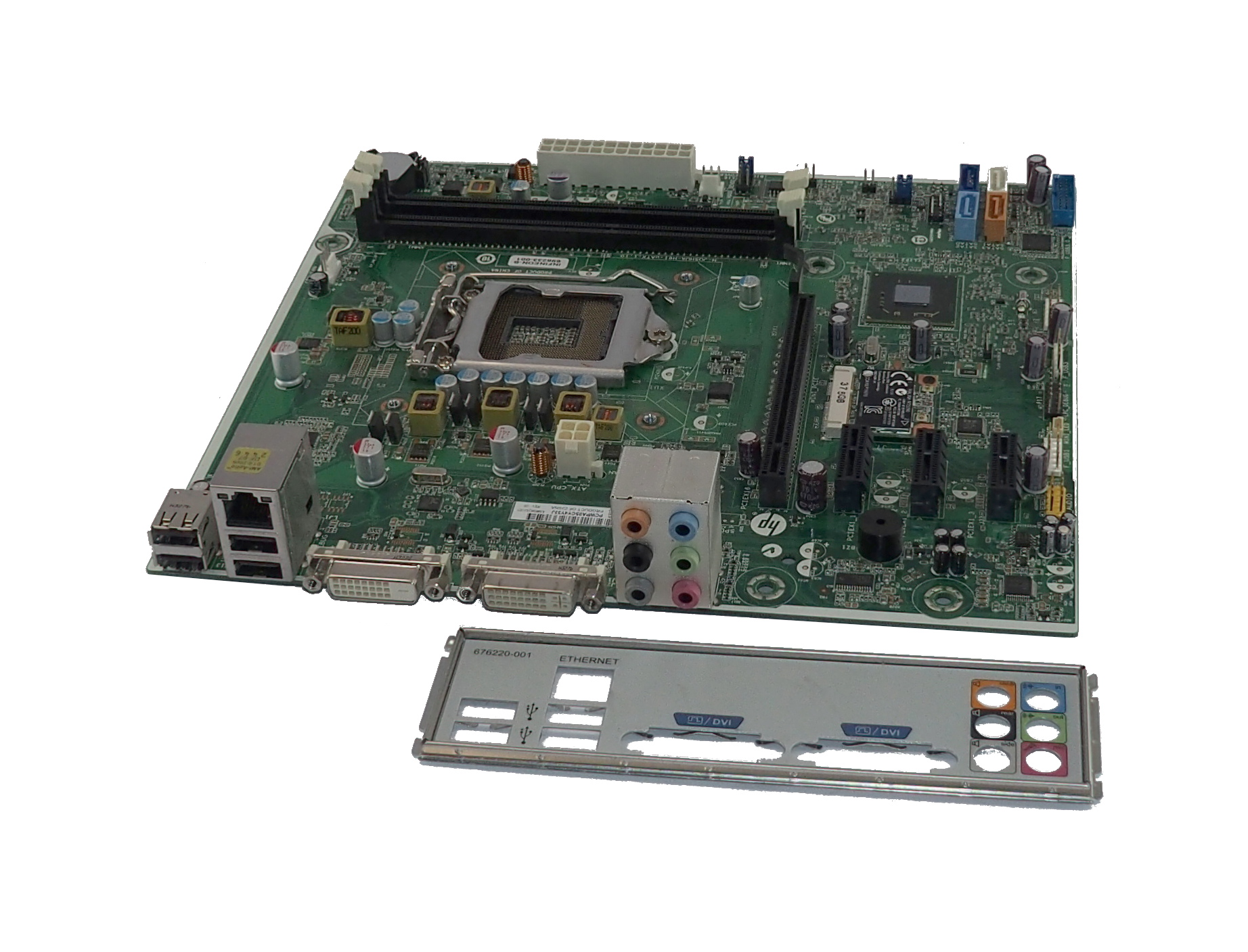 HP 696233-001 Socket LGA 1155 uATX Motherboard For Pavilion H61 PC