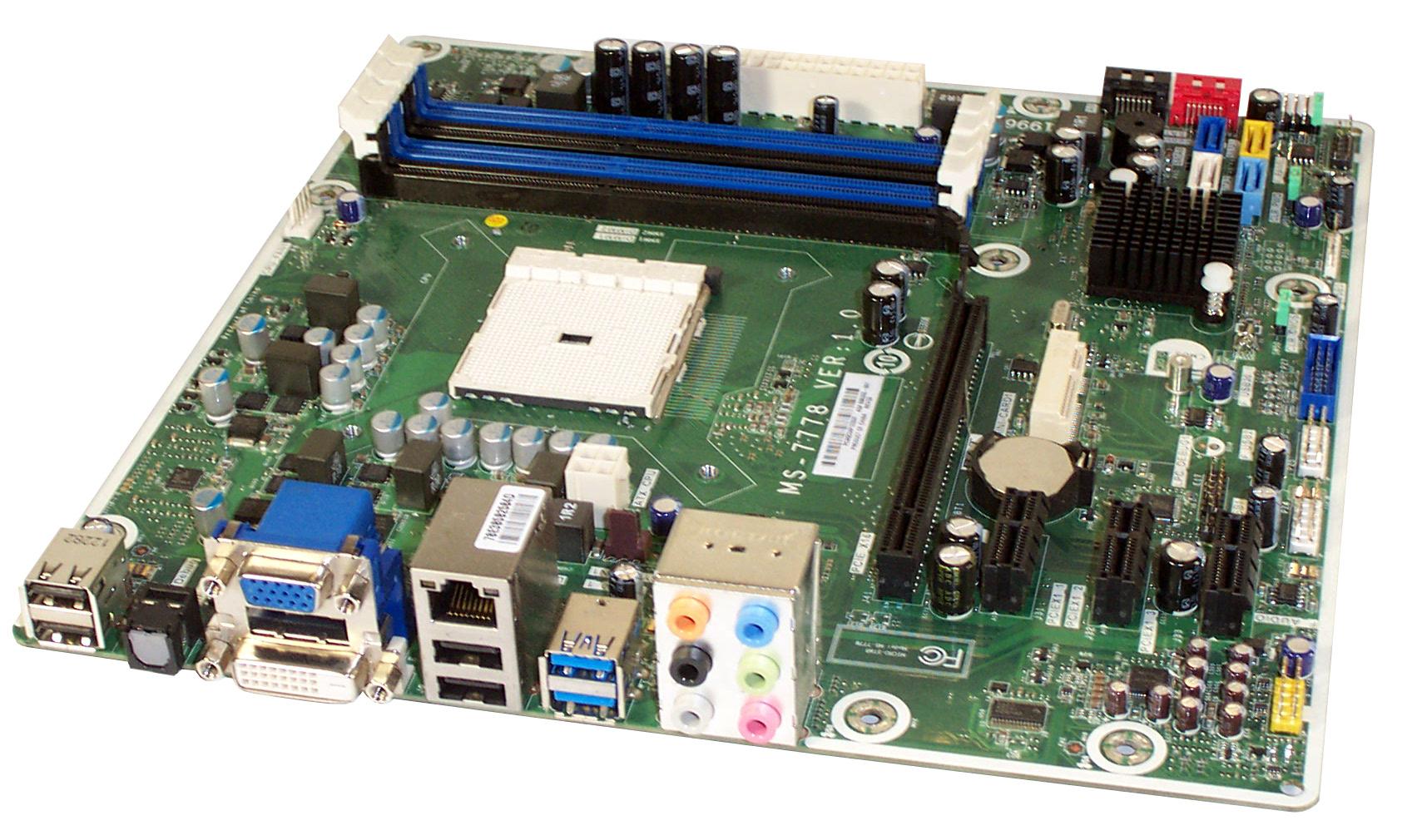 HP MS-7778 Ver 1.0 Skt FM2 DDR3 Motherboard - P/N  696333-001
