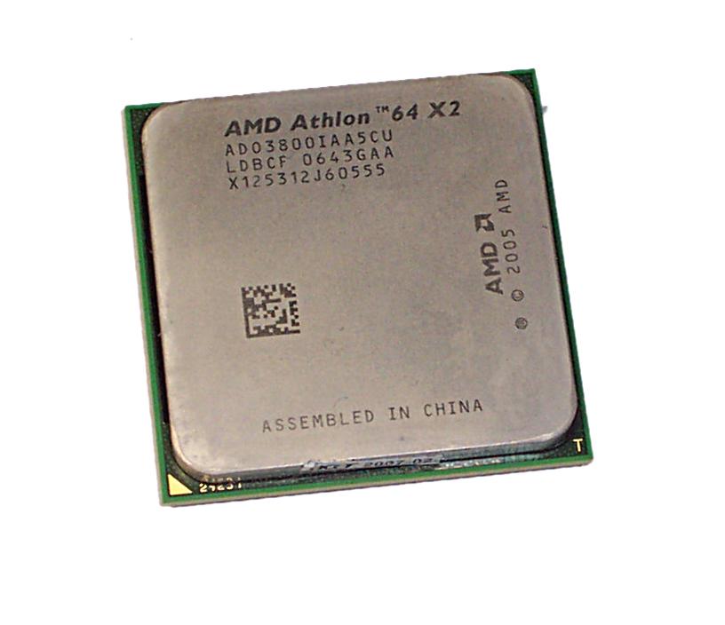 AMD ADO3800IAA5CU Athlon 64 X2 Dual-Core 3800+ 2.0GHz Socket AM2 Processor