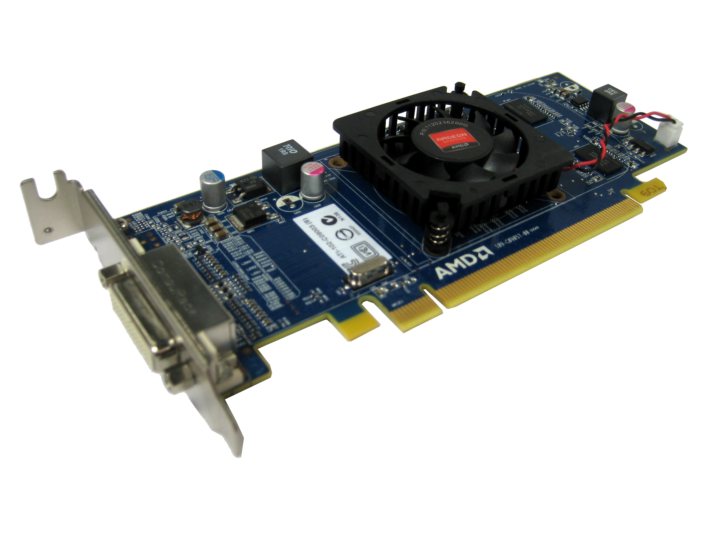 Dell HFKYC AMD Radeon HD 5450 512MB DMS-59 Low Profile Graphics Card