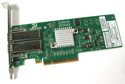 571521-001 HP Brocade 825 8GB PCIe Fibre Channel Dual Port HBA - AP770-60001