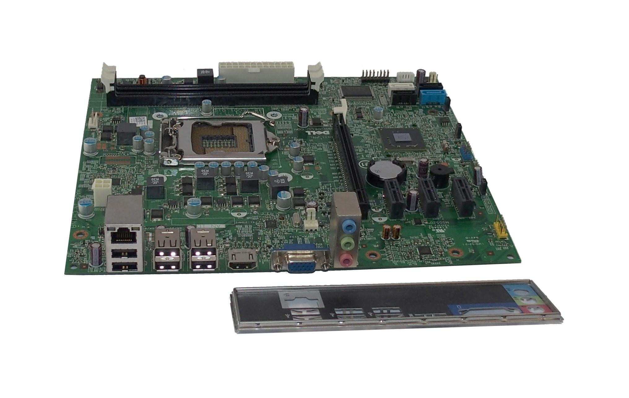 Dell M5DCD OptiPlex 390 MT (Model:D07D) Intel Socket LGA1155 Motherboard MIH61R