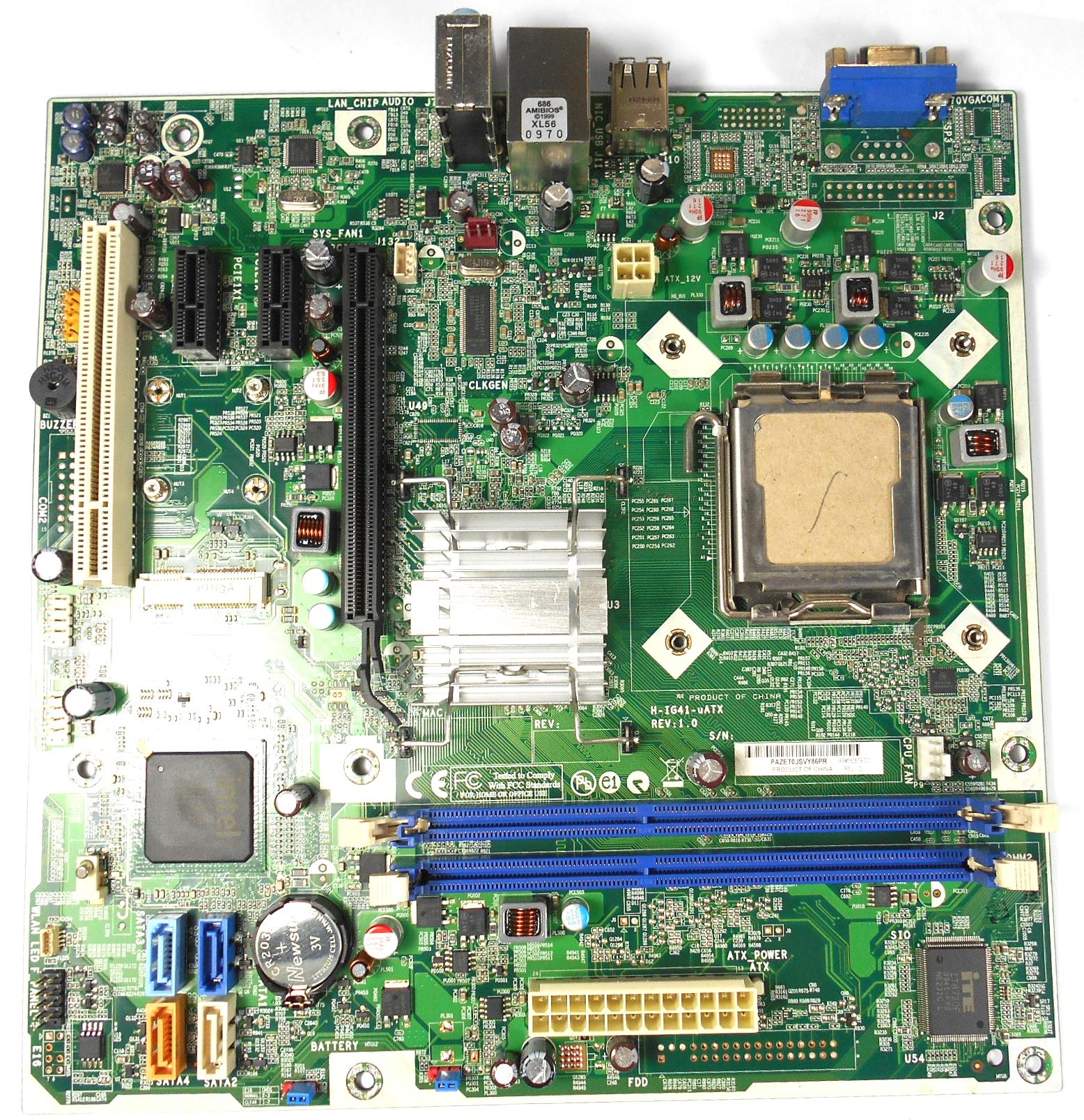 HP 582679-001 H-IG41-uATX Socket 775 Motherboard