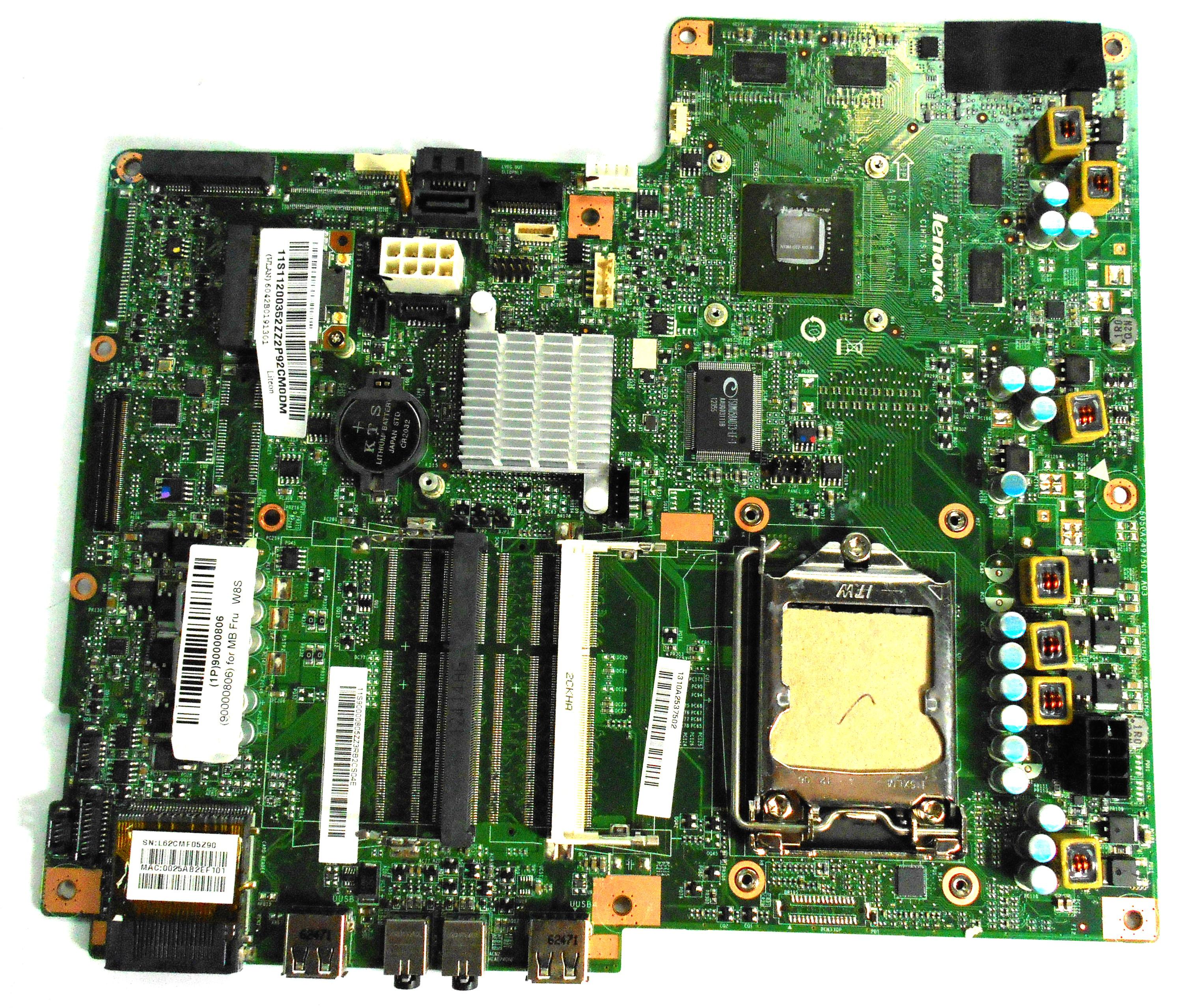 Lenovo CIH77S IdeaCenter B540P Motherboard - 1310A2537502 / 90000806