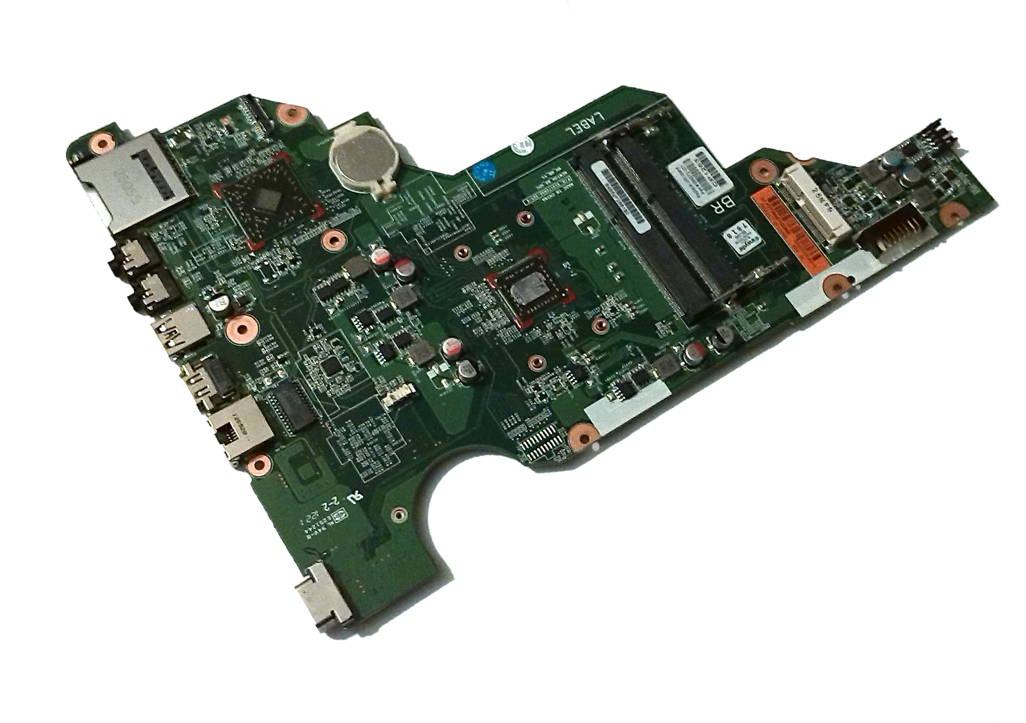 HP 689072-001 655 Laptop Motherboard with AMD E2-1800 Processor