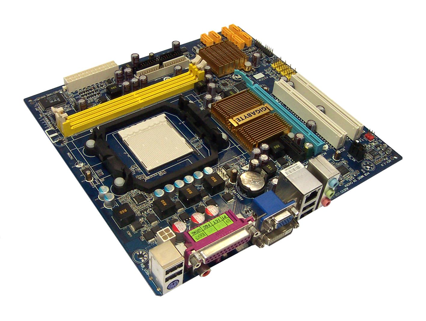 Gigabyte GA-MA74GM-S2H REV 1.0 Socket AM2+ Motherboard