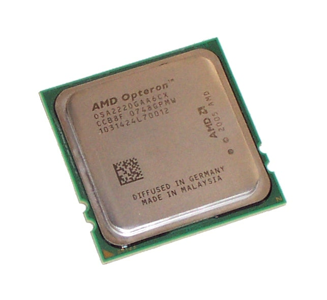 2x AMD OSA2220GAA6CX Opteron Dual Core 2220 2.8GHz Processors