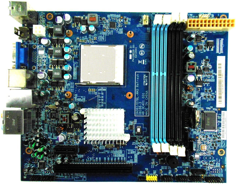 DA061/078L-AM3 Packard Bell oneTwo L5351 Motherboard MB.U5N01.003 48.3C401.031