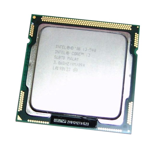 Intel SLBTD Core i3-540 3.06GHz 4M Cache Socket FCLGA1156 Processor