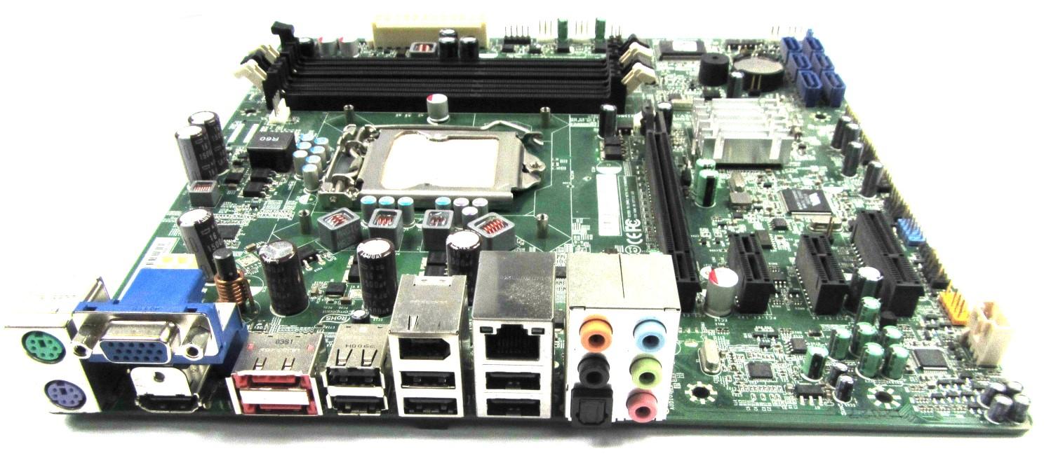 MB.U5209.001 Acer H57M01P8-1.1-8EKS3H Intel Socket LGA1156 Motherboard