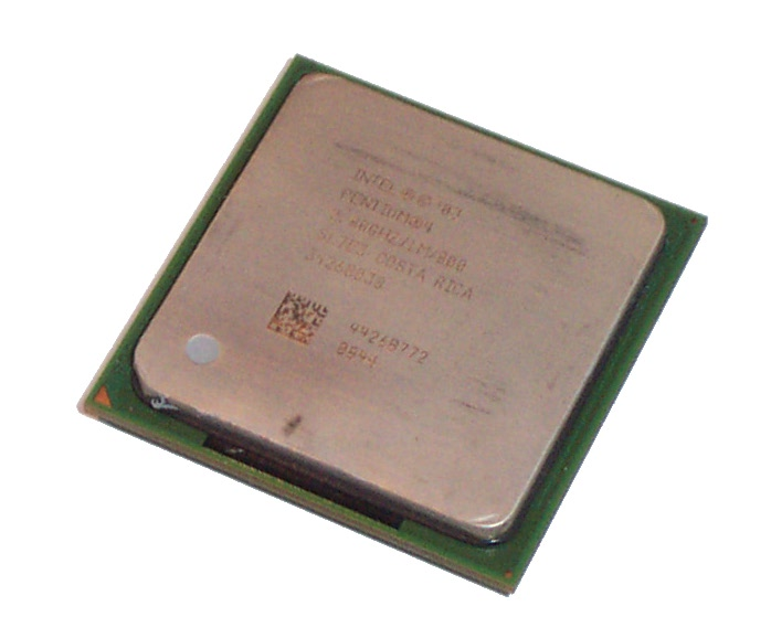 Intel SL7E3 Pentium 4 2.8GHz 800MHz 1MB Socket 478 Prescott Processor
