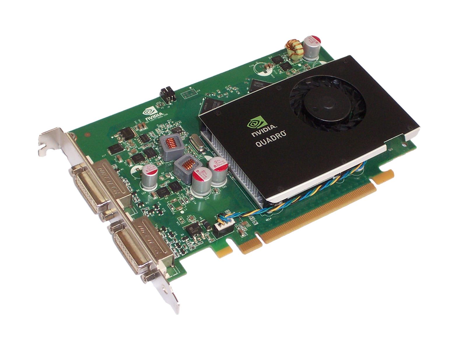 HP 519294-001 nVidia Quadro FX 380 256MB PCIe Dual DVI Graphics Card