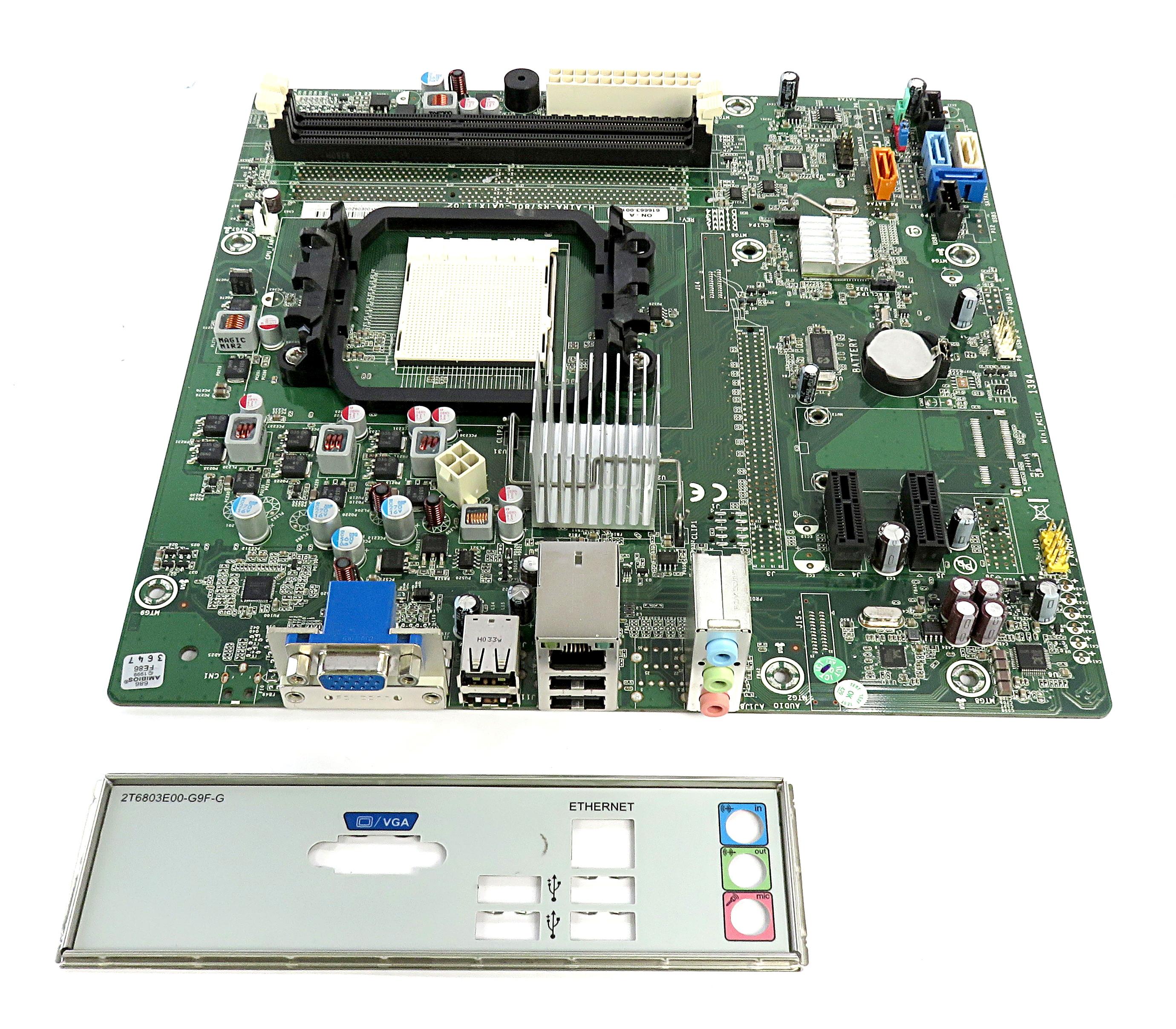 619958-001 HP AMD Socket AM3 Motherboard H-AIRA-RS780L-uATX:1.02 616663-001