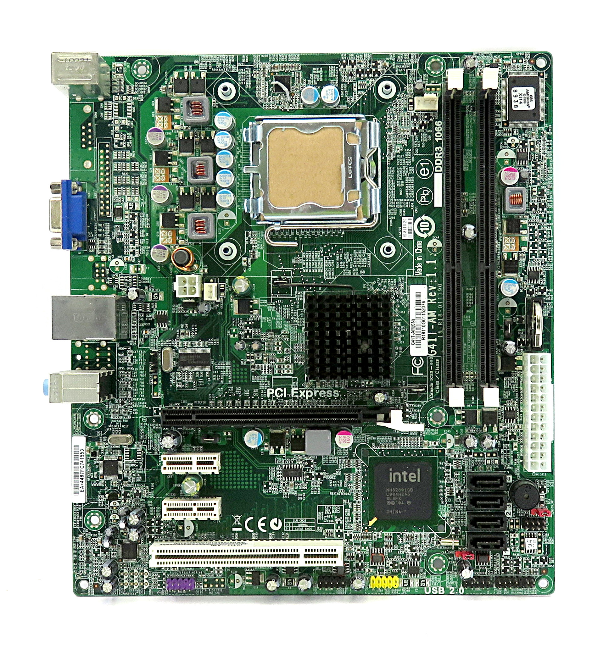 Acer G41T-AM Rev 1.1 LGA775 mATX Motherboard